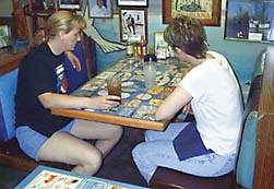 Taking YOUR Business To The TOP With Tabletop Advertising - Restaurant table advertising
